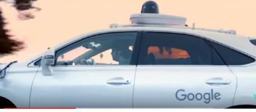 Robot Taxis, say Hello to Waymo. [Image source/Waymo YouTube video]