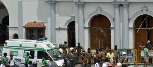 Sri Lanka: una delle chiese colpite da atti terroristici