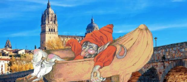 El duende apedreador de Salamanca.