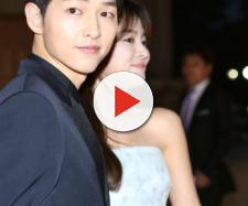 Song Joong Ki and Song Hye Kyo. (Blasting News Database)