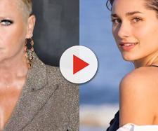 Xuxa falou sobre pergunta da filha Sasha à Luana Piovani. (Reprodução/Instagram/@xuxamenegheloficial/@sashameneghel)