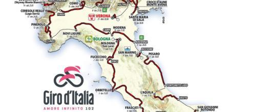102ª edizione del Giro d'Italia