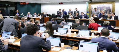 CCJ da Câmara aprova reforma da Previdência. (Michel Jesus/Câmara dos Deputados)