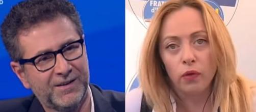 Fazio: 'Si dice Parigi sia capitale d'Italia', la Meloni su Twitter: 'La capitale è Roma' (VIDEO)