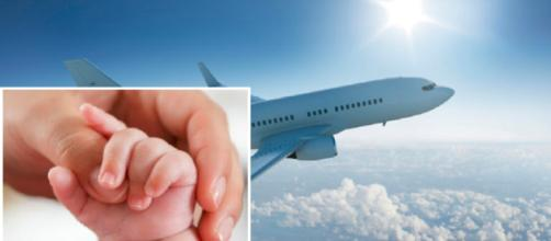 Ha un malore improvviso mentre è in aereo: piccola di due mesi muore tra le braccia della madre - Internapoli