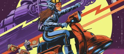 Il manifesto ufficiale del Comicon 2019, opera del disegnatore e copertinista Francesco Francavilla