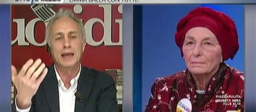 Marco Travaglio attacca Emma Bonino e Radio Radicale