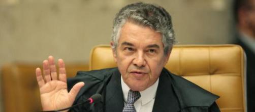 O Ministro do STF, Marco Aurélio não participará do julgamento de Lula. (Arquivo Blasting News).