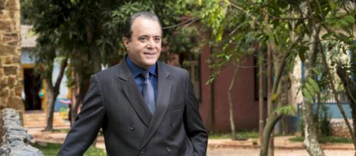 Olavo ficará impune e terá final feliz em 'O Sétimo Guardião'. (Reprodução/TV Globo)