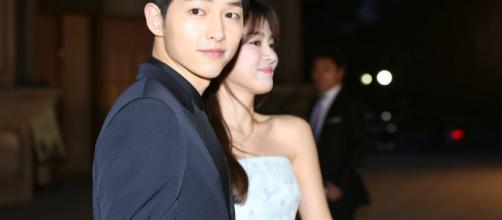 Song Joong Ki and Song Hye Kyo. (Blasting News Database)