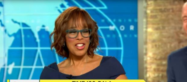 Gayle King keeps her trademark candor, even regarding her Time 100 honors. [Image source:CBSThisMorning-YouTube]