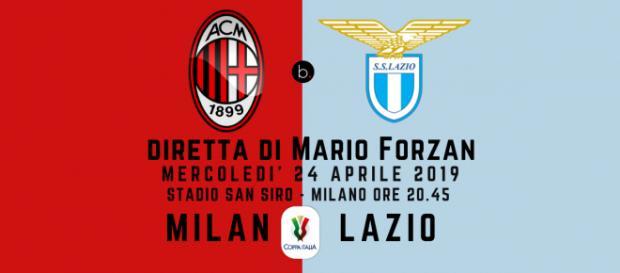 Semifinale di ritorno di Coppa Italia: Milan - Lazio (andata 0 - 0)