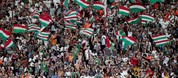 Torcida do Fluminense prepara festa para domingo. (Arquivo Blasting News)