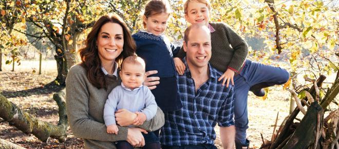 Família Real Britânica divulga fotos inéditas do príncipe Louis