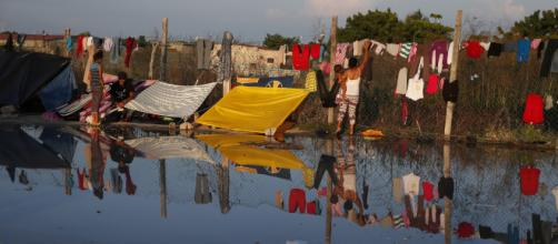 Miles de migrantes centroamericanos siguen llegando a México.
