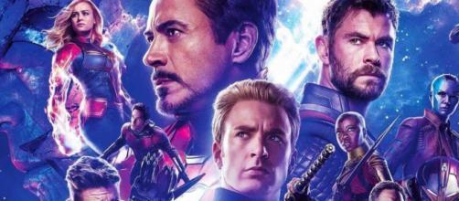 Póster promocional de Avengers: End Game