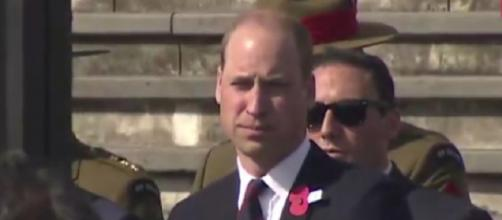 Prince William attends Anzac Day service in New Zealand. [Image source/Sharjah24 News YouTube video]