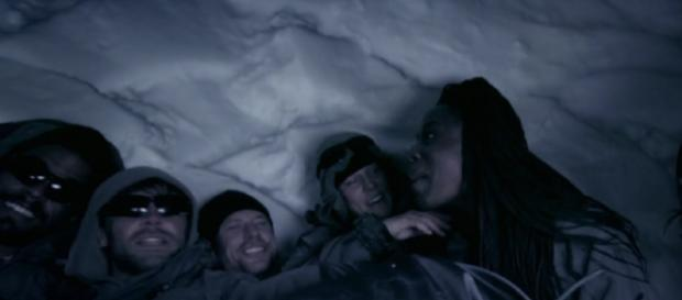 Team Bravo are victorious in shelter building challenge (Image credit: SAS: Who Dare Wins SU2C/4OD)