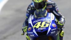 Valentino Rossi e la Yamaha alla prova di Jerez: il nuovo asfalto potrebbe aiutare la M1