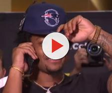 N'Keal Harry was surrounded by family and friends in Arizona when Bill Belichick made the call (Image Credit: New England Patriots/YouTube)