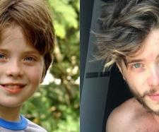Quando criança, Pedro Malta chamou a atenção por ser parecido com o ator Fábio Assunção. (Reprodução/TV Globo/Instagram/@peumalta)