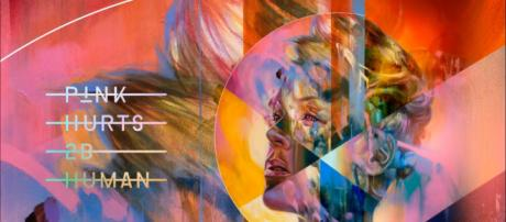 Pink releases eighth album Hurts 2B Human. [Image via PinkVEVO/YouTube]
