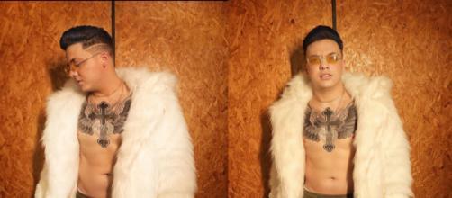 Safadão muda o visual na gravação de seu novo clipe. (Reprodução/Instagram/@wesleysafadao)