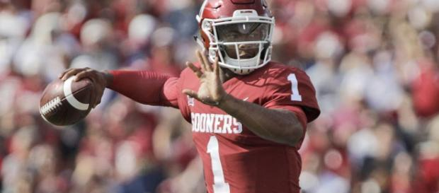 Arizona Cardinals have selected Kyler Murray with the first pick of the 2019 NFL Draft. [Image Credit] HolaKyle/YouTube
