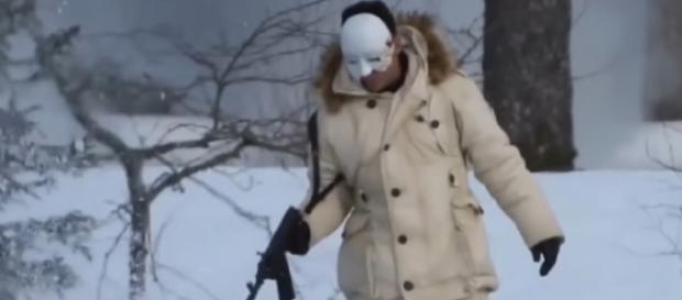 Bond 25: started in Norway reveal terrifying VILLAIN as Daniel Craig movie begins filming. [Image source/Riccardo Balsamo YouTube video]