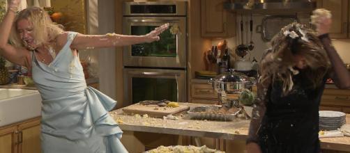 Anticipazioni Beautiful: Taylor e Brooke si lanciano delle torte