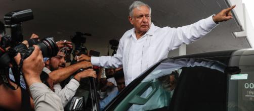 Llega AMLO a Minatitlán; le reclaman paz y justicia. - abstractonoticias.com