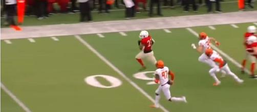 Nebraska football doesn't see player drafted. [Image via Mark V/YouTube]