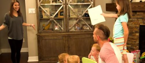 OutDaughtered: The quints and Blayke on Mother's day with Danielle and Adam Busby - Image credit - TLC UK / YouTube