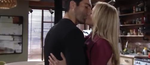 Rey and Sharon work together to uncover Victor's secret. - [The Young and the Restless / YouTube screencap]