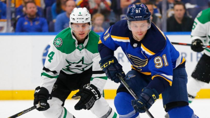NHL Playoffs: Los Blues con un gran Tarasenko, ganan a Dallas en juego 1 de la 2da ronda