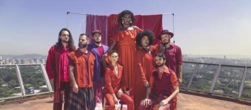Liniker e os Caramelows é uma banda R&B de São Paulo. (Divulgação/Leila Penteado)