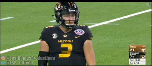 Drew Lock could have been a Green Bay Packer if things had gone differently. [Image via JustBombsProductions/YouTube]