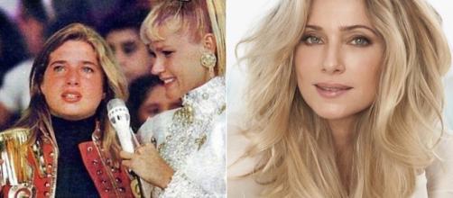 Letícia Spiller atualmente trabalha como atriz. (Reprodução/Rede Globo/Instagram/@arealspiller)