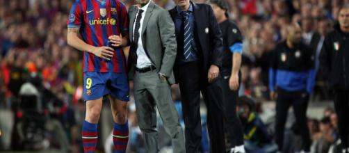 Mourinho fu condottiero e protagonista della sfida al Camp Nou