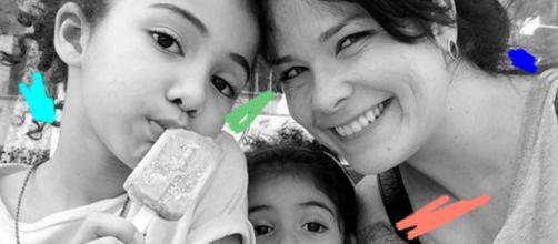 Samara Felippo é mãe de Alicia (9) e Lara (5) (Arquivo Blasting News)