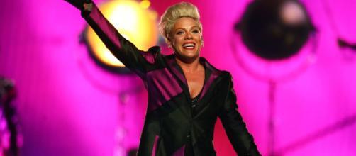 A cantora Pink revelou sofrer de ansiedade e depressão. (Arquivo Blasting News)