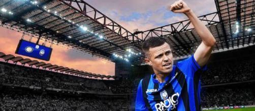 Inter, Josip Ilicic nel mirino (fotomontaggio).