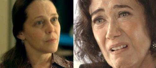 Judith e Valentina em 'O Sétimo Guardião' (Reprodução/TV Globo)