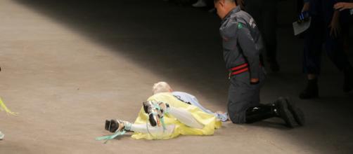 Modelo morreu após passar mal e desmaiar em desfile da SPFW. (Arquivo Blasting News)
