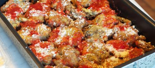 Parmigiana di carciofi senza besciamella.