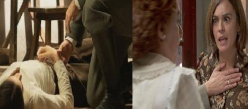 Trame spagnole Il Segreto: Elsa in fin di vita, Gracia allontana la figlia da Dolores
