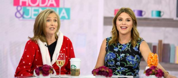 Meredith Vieira wore her favoite bathrobe on-air on Today, and Jenna Bush Hager dared her to go more public.[Image source:TODAY-YouTube]