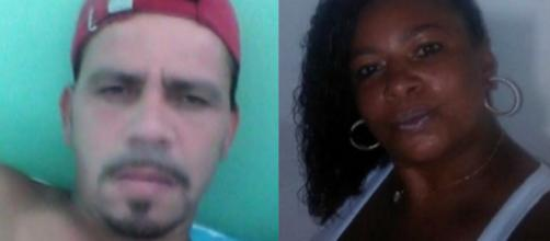 Homem é suspeito de matar a companheira na Baixada Fluminense. (Reprodução/Rede Globo)