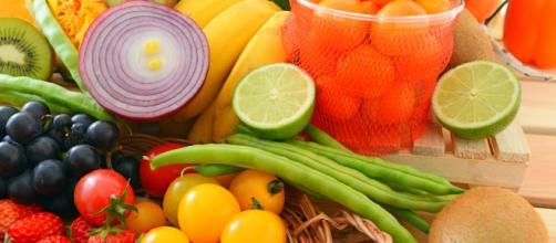 Las hortalizas y frutas protegen la salud.