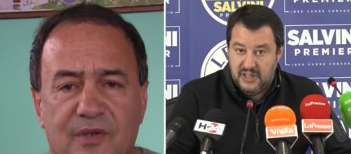 Lucano riabilitato, provoca Salvini: 'Io non scappo', il ministro risponde, 'Evviva'